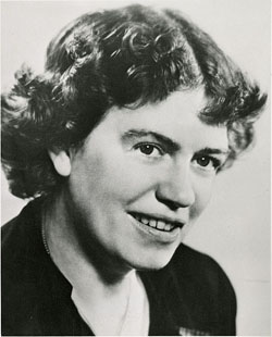 Margaret Mead was an American cultural anthropologist who worked in the South Pacific and Southeast Asia. She was very influential in the 1960s and 70s. Image by Smithsonian Institution from United States.