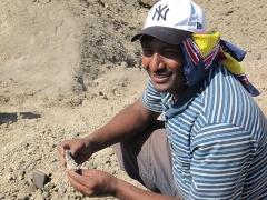 Scientist who discovered the Ledi-Geraru Homo jaw