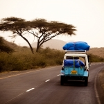 On the road, Ethiopia