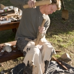 "Kyle Brown ""knapping"" stone cutting blades"
