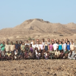 Field team, Hadar, Ethiopia, 2009