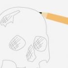 Anthropology fieldwork sketching illustration