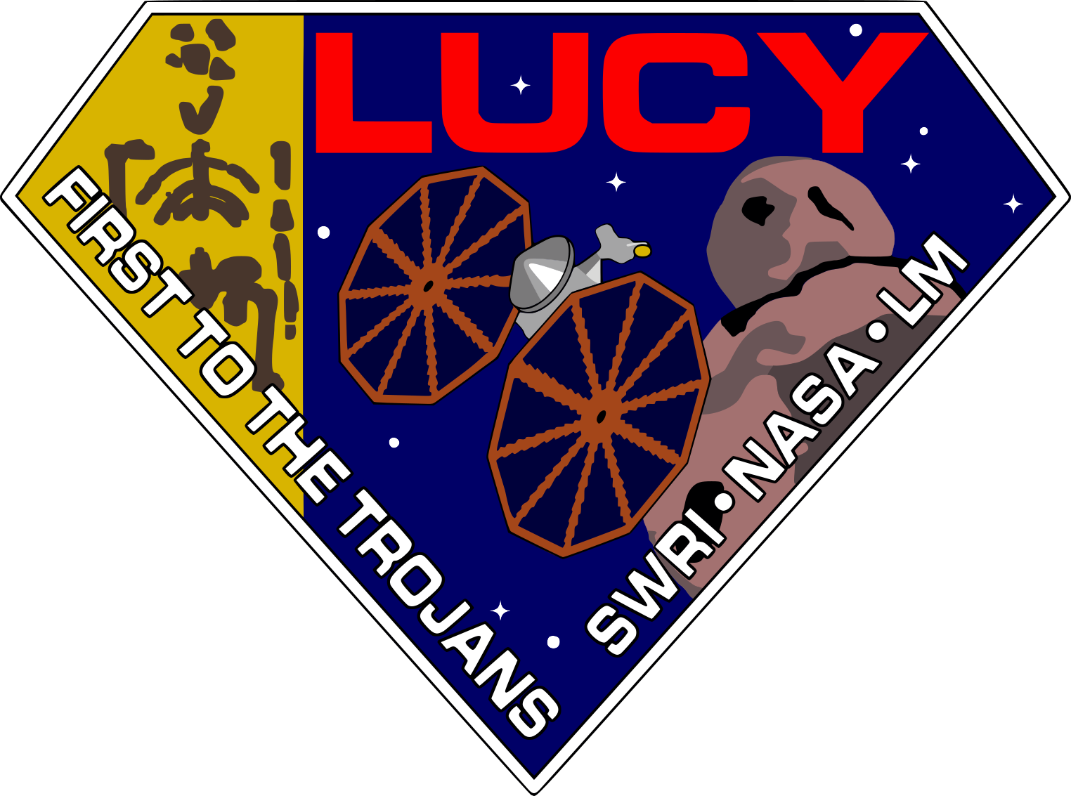 Lucy mission insignia